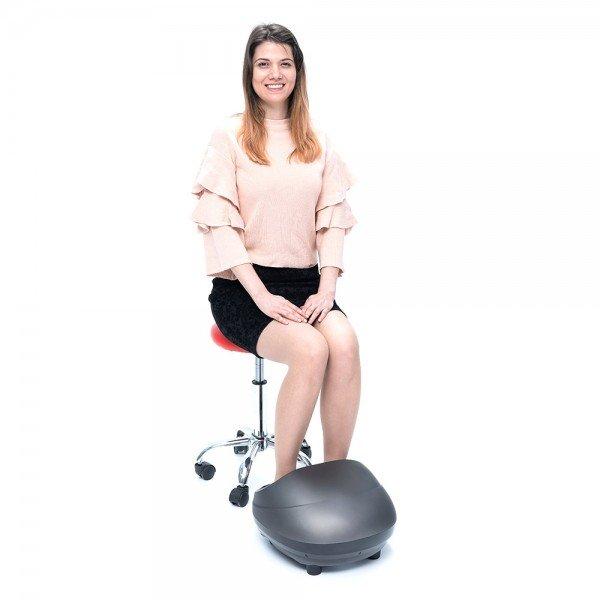 Шиацу Масажор за Крака REXTON FR-F18 с функция за подгряване и интензивност на масажа