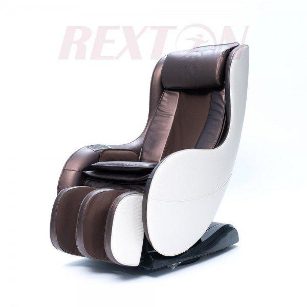 Масажен стол RK-1900 с компактни размери и Bluetooth - кафяв