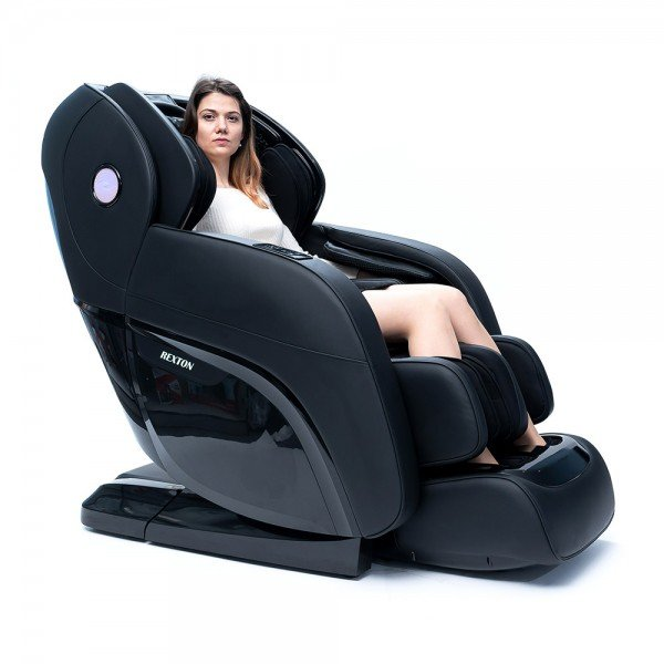 Професионален Масажен Стол REXTON RK-8900S с 4D масаж на цяло тяло - черен
