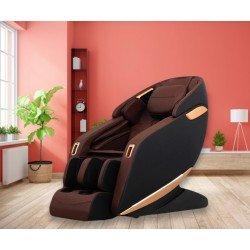 Професионален Масажен Стол REXTON Z1-BR с 3D масаж, инфрачервено затопляне и Bluetooth