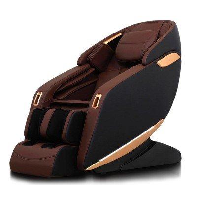 Професионален Масажен Стол REXTON Z1-BR с 3D масаж, инфрачервено затопляне и Bluetooth - Модел 2020 година