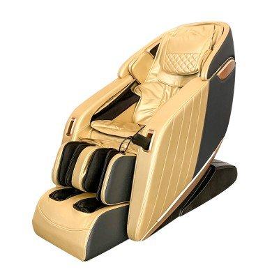 Професионален Масажен Стол REXTON Z1-GOLD с 3D масаж, инфрачервено затопляне и Bluetooth